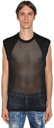 DSQUARED2 Sleeveless Mesh T-Shirt
