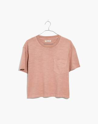 Madewell Garment-Dyed Easy Crop Tee