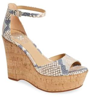 Vince Camuto Tatchen Ankle Strap Platform Sandal