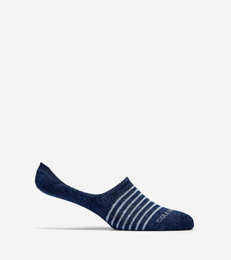 Cole Haan Cotton Twist No-Show Sock Liners - 2 Pack