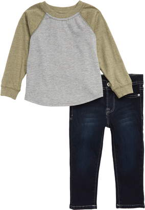AG Adriano Goldschmied kids T-Shirt & Jeans Set