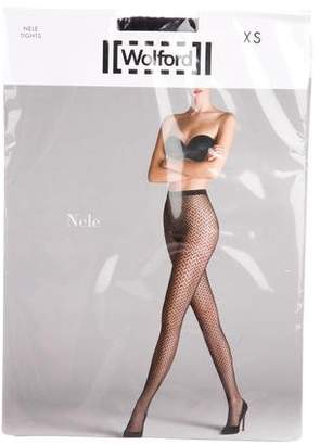Wolford Nele Fishnet Tights w/ Tags