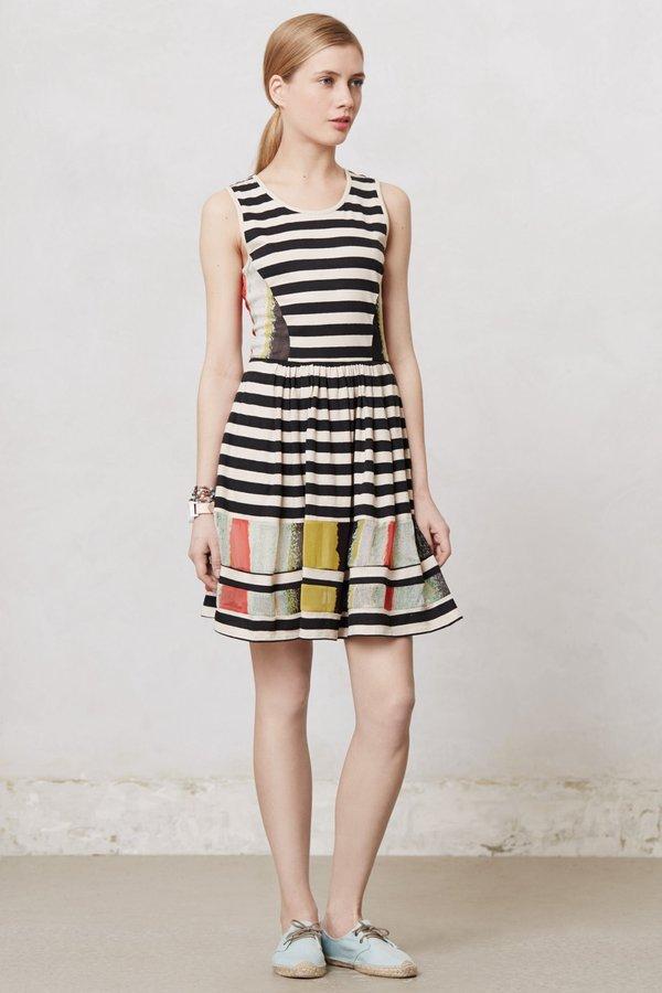 Anthropologie Modern Composition Dress