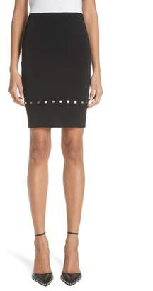 Alexander Wang Snap Detail Pencil Skirt