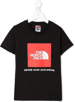 The North Face (ザ ノース フェイス) - The North Face Kids logo T-shirt