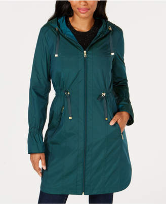 Cole Haan Hooded Raincoat