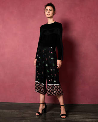 Ted Baker KAYTII Florence paper bag culottes