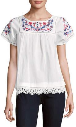 Rebecca Taylor Garden Embroidery Top