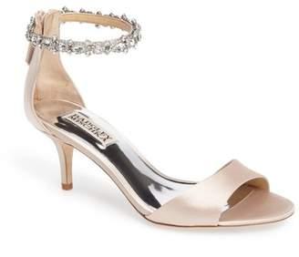 Badgley Mischka Geranium Embellished Sandal