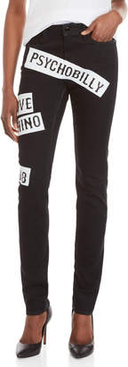Love Moschino Psycho Billy Slim Straight Jeans