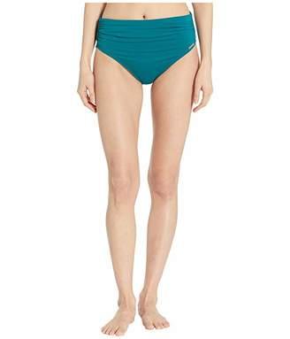 Vince Camuto Surf Shades Convertible High-Waist Bikini Bottoms