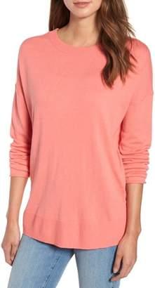 Caslon V-Back Sweater