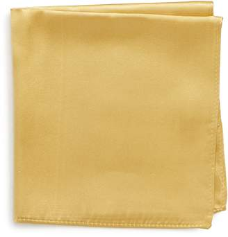 Nordstrom Solid Silk Pocket Square