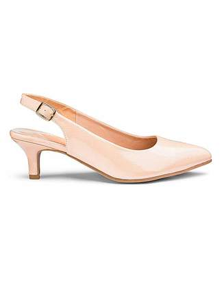 1d684748f40e Jd Williams Flexi Sole Kitten Heel Shoes D Fit