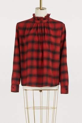 Officine Generale Sofia cotton blouse