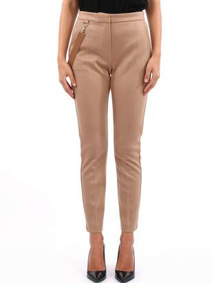 Max Mara Camel Wool Jersey Trousers