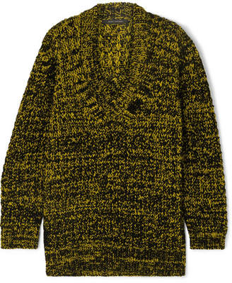Marc Jacobs Oversized Wool-blend Sweater - Yellow