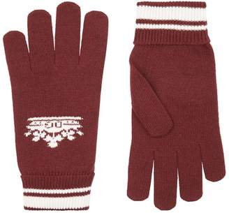 Dolce & Gabbana Crown Knit Gloves