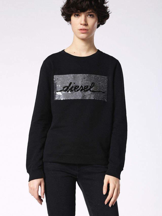 DieselTM Sweatshirts 0CASA - Black - S