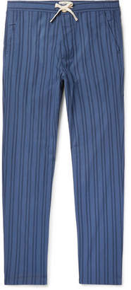Oliver Spencer Loungewear Medway Striped Organic Cotton Pyjama Trousers