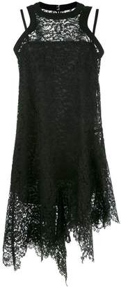 Sacai guipure lace dress