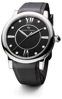 David Yurman Classic 38Mm Rubber Swiss Quartz Watch