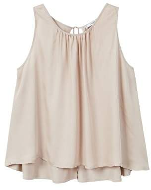 MANGO Ruched detail top