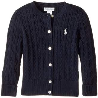 Ralph Lauren Mini Cable Sweater Girl's Sweater