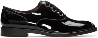 Marc Jacobs Black Patent Leather Helena Oxfords $375 thestylecure.com