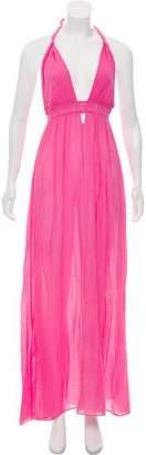 LoveShackFancy Sleeveless Maxi Dress