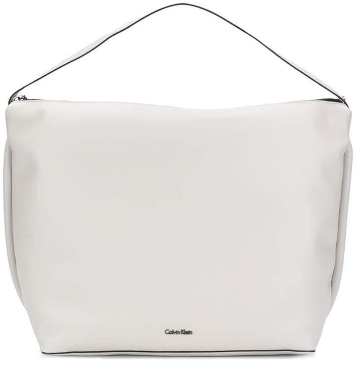 Calvin Klein large top handle tote bag