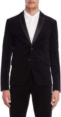 Imperial Star Black Velvet Tuxedo Jacket