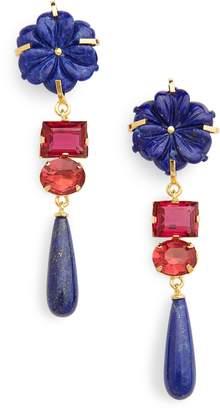 Lizzie Fortunato Baroque Flower Earrings