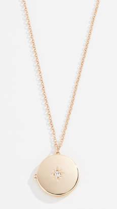 Shashi Starburst Locket Necklace