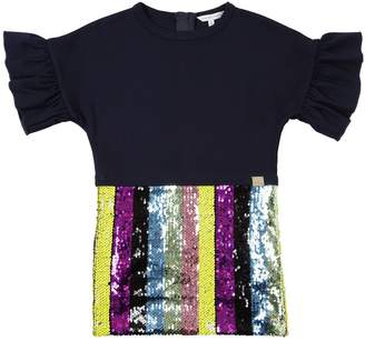 Little Marc Jacobs Sequined Viscose Party Dress
