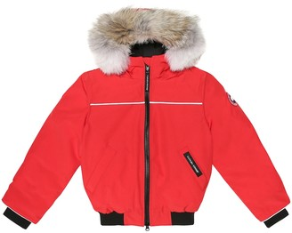 Canada Goose Kids Grizzly down bomber jacket