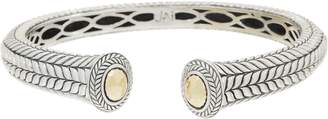 Jai JAI Sterling Silver & 14K Gold Basketweave Cuff