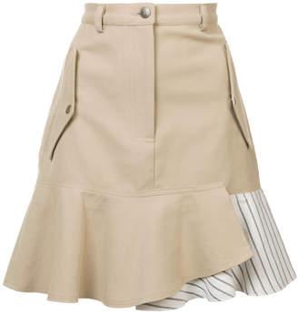 Nicole Miller asymmetric pocket skirt