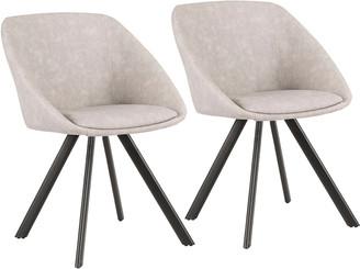 Lumisource Set Of 2 Matisse Chairs
