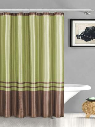 Sabrina Duck River Faux Silk Shower Curtain