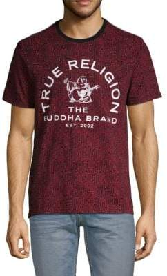 True Religion Graphic Short-Sleeve Cotton Tee