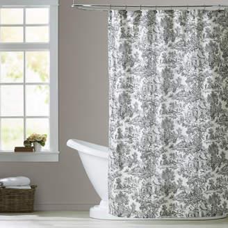 Gatineau Lark Manor Cotton Toile Shower Curtain