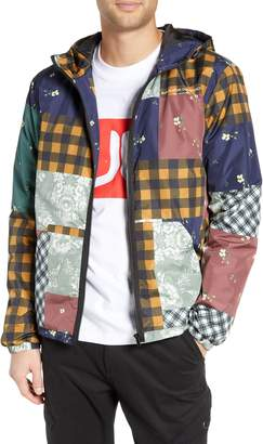 Wesc Patchwork Print Windbreaker