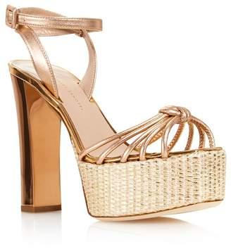 923c34169a27e Giuseppe Zanotti Women's Leather High-Heel Platform Sandals - 100% Exclusive