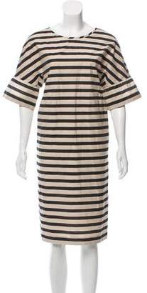 Max Mara Weekend Striped Mini Dress