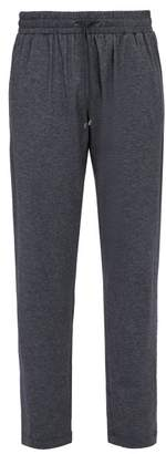 Zimmerli Cashmere Cotton Blend Lounge Trousers - Mens - Navy