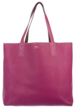 Hermes Clemence Double Sens Tote 36