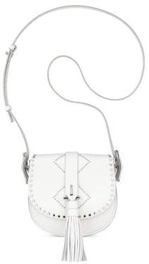 Anne Klein Kate Leather Crossbody Bag