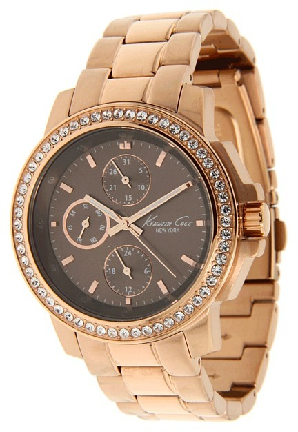 Kenneth Cole New York - KC4856 (Brown/Rose Gold) - Jewelry