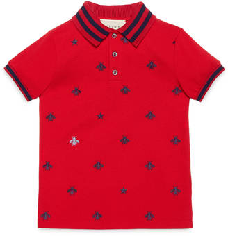 Children's bees stars cotton polo $310 thestylecure.com
